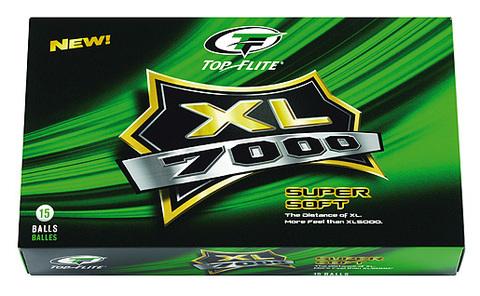 Top Flite XL Supersoft - Billiga logobollar med tryck av egen logga