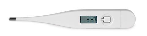 Febertermometer med tryck