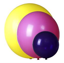Stora ballonger med eget reklamtryck