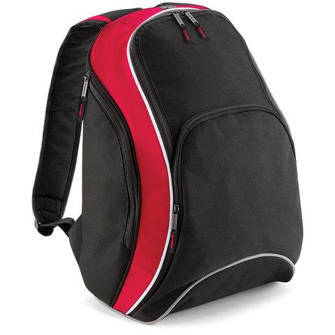 Svart/Classic Red/Vit Ryggsäckar med tryck
