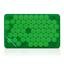 Grön transparent Fresh Card med eget tryck