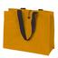 Orange Stor jutebag med eget tryck