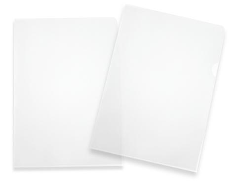 Transparent Tumgreppsmapp A4 med tryck