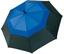 Blå / Svart Paraplyer med eget tryck