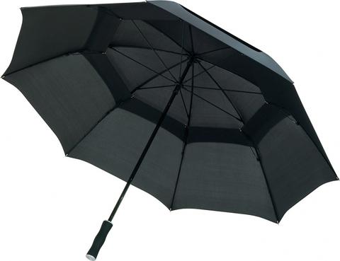Svart Kvalitetsparaplyer med tryck