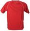 Röd/Vit (rygg) T-shirt i funktionsmaterial