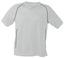 Vit T-shirt i funktionsmaterial