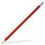 Röd Runda blyertspennor med reklamtryck
