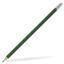 Mörkgrön Runda blyertspennor med reklamtryck
