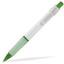 Grön (White) Billig reklampenna med skön skrivkänsla