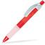 Röd / Transparent Maximilian - Kulspetspennor med tryck