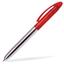 Röd Peter metall - metallpennor med tryck eller gravyr