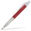Röd/Transparent Oliver - Billiga pennor med tryck