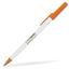 Vit/Orange Kontorspennor med eget tryck