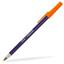 Marinblå/Orange Kontorspennor med eget tryck