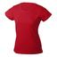 Röd Träningskläder Dam med reklamtryck