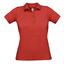 Red Pikétröjor med tryck för dam