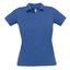 Royal Blue Pikétröjor med tryck för dam