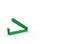 Grön Reklampåsklämmor med tryck