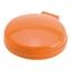 Orange Fickspegel med hårborste
