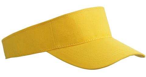 Svart Fashion - Enkel solskärm i bomull med tryck eller brodyr