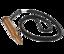 Nackband USB-minne i läder med eget tryck