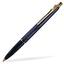Marinblå bläckpenna Ballografpennor med eget tryck