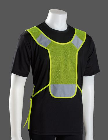 Floucerande gul Reflexkrage Sport - Alternativ till reflexväst