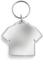 T-shirt Transparenta nyckelringar med digitaltryck
