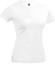 Vit T-shirt i ekologisk bomull