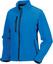 Azure Blue Softshell-jackor i dammodell med reklamtryck