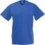 Royal Blue V-ringad t-shirt med reklamtryck