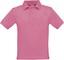 Pixel Pink Klassisk pikétröja med reklamtryck