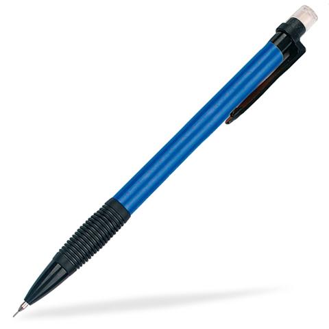 Blå / Svart Billiga stiftpennor med reklamtryck
