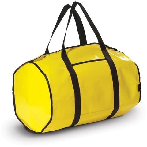 Svart Miljövänlig sportväska med reklamtryck