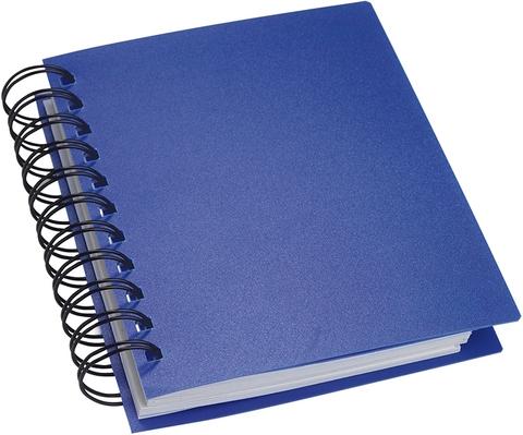 Blå Anteckningsblock i miniformat med självhäftande lappar