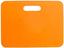 Orange Sittdynor med reklamtryck