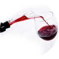 Wine aerator Upphällare