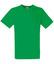 Kelly Green V-ringad t-shirt med reklamtryck
