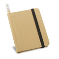 Notisbok med blyertspenna