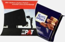 100 gram-Ritter Sport choklad med reklamtryck