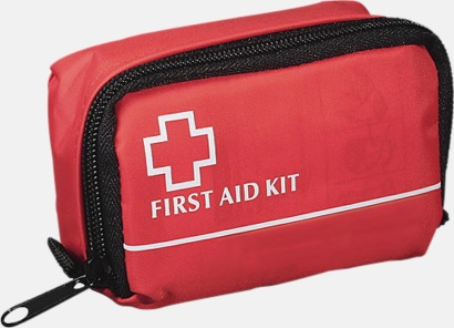 Röd Smidig Första Hjälpen med reklamtryck