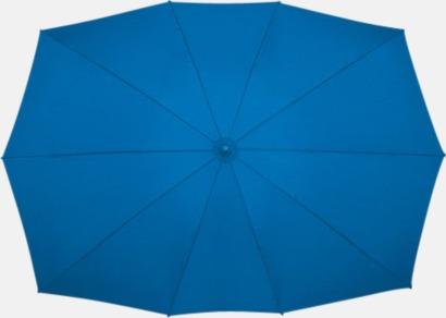Blå Tvillingparaply med eget tryck