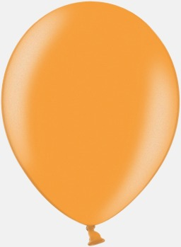 081 Bright Orange Ballonger i unika färger med eget tryck