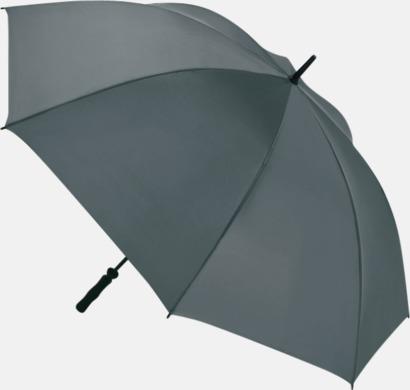 Grå Golfparaplyer med eget tryck