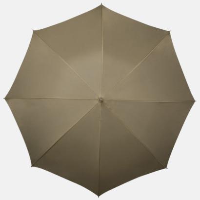 Natur Kompakt Paraplyer - Med tryck
