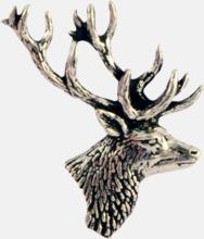 Engelska, handgjorda broscher med jaktmotiv