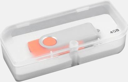 Plastask USB-minne med kedja