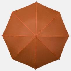 Orange Kompakt Paraplyer - Med tryck