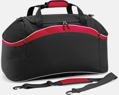 Svart/Classic Red/Vit Väskor med reklamtryck